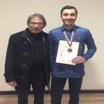 Χάλκινο μετάλλιο φοιτητής του ΔΠΘ σε μαθηματική ολυμπιάδα